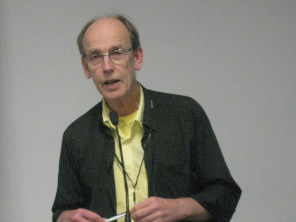 Doug Munro at the National Library of New Zealand on 27 August.